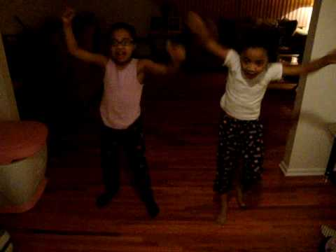 Lil Divas dancing to Lil Miss Swagga