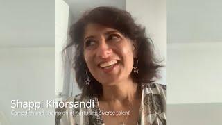Shappi Khorsandi   Diversity & Inclusion 2.0 Virtual Masterclass