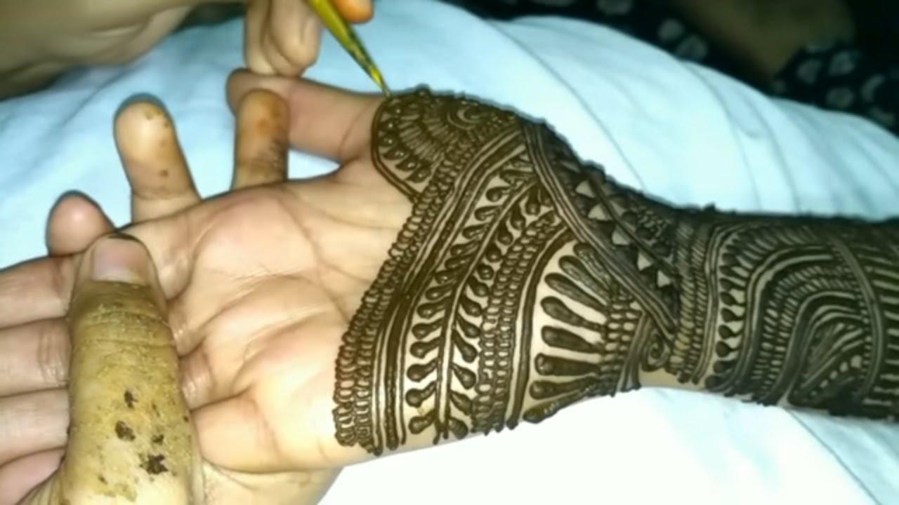 Wedding Special Mehndi Design For Dulhan New Mehndi Design 2018