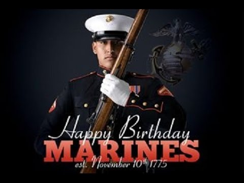 FAMOUS MARINES 2015 version - Marine Corps Birthday