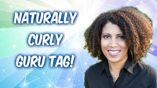 Naturally Curly Guru Tag | CurlyKimmyStar Thumbnail