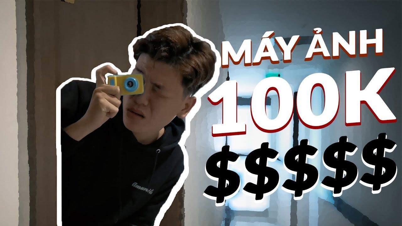 """Trên tay """"siêu máy ảnh"""" giá chỉ 100K… cho bé !"""
