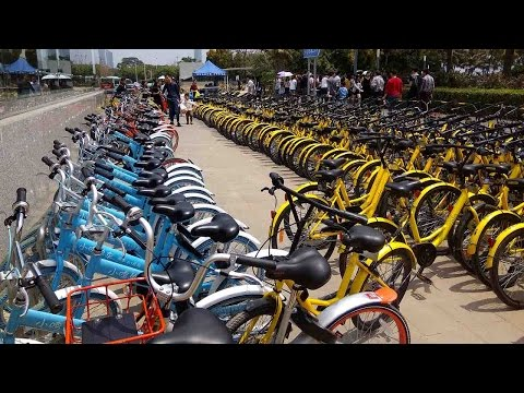 Bike-sharing industry booms in SE China's Shenzhen