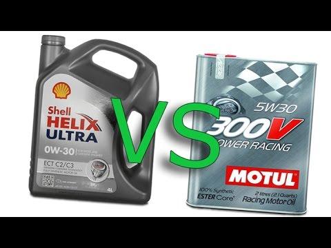 shell helix ultra 0w30 vs motul 300v power racing 5w30. Black Bedroom Furniture Sets. Home Design Ideas