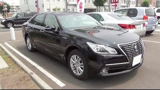 2014 New TOYOTA CROWN HYBRID RoyalSaloon G Four - Exterior & Interior