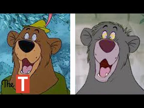 Download Youtube: 10 Times Disney Recycled Animation In Its Movies