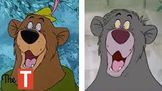 10 Times Disney Cheated and Used The Same Animation In Different Cartoons