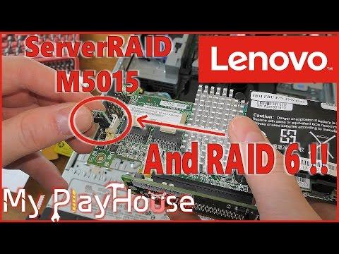 ServerRAID M5015 Setup, with M5000 Advanced Feature Key - 498