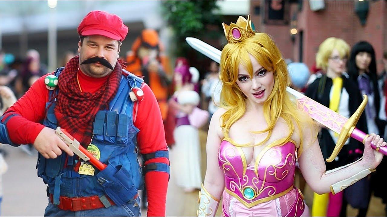 bros cosplay mario Super