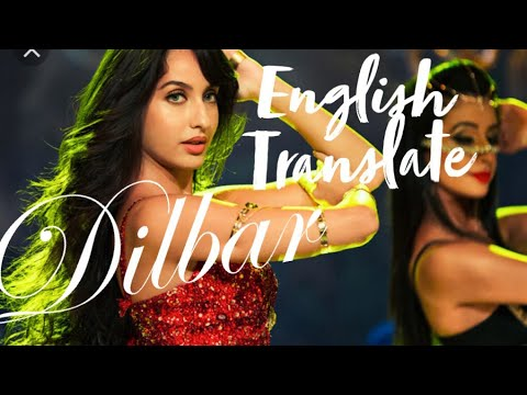 Dilbar English Translation