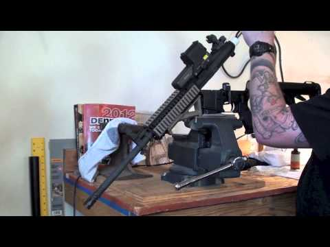 How to properly clean lubricate maintain your AR-15 M4 Carbine rifle: Biker Podcast; Biker Podcast