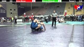 FSN 220: Brian Moran (WOW) vs. Marcus Malecek (Victory School of Wrestling)