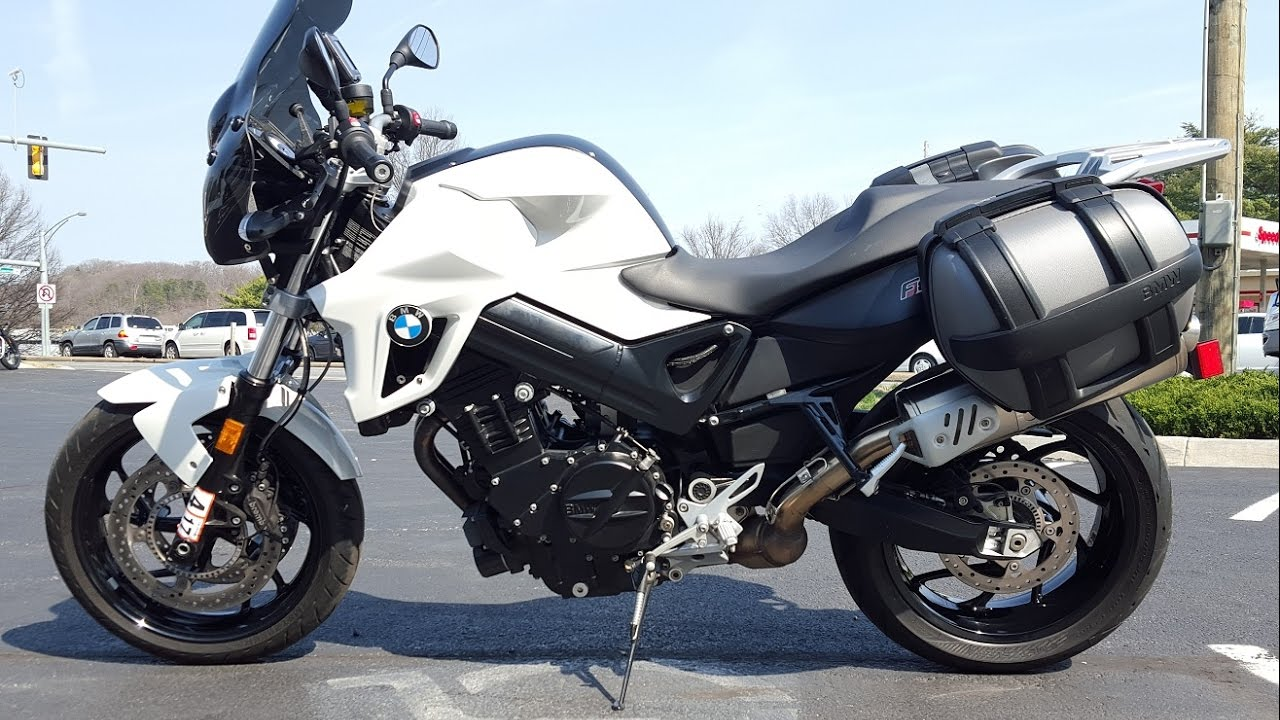 2012 Bmw F800r With Panniers Amp Nav Frontline Eurosports