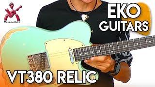 VT380 Relic solo audio sample - Eko Guitars & Massimo Varini