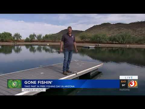 Go Fishing For Free In Arizona This Saturday