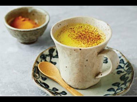 Golden milk - Turmeric, Coconut oil and Milk / recipe / Natural Master No 1