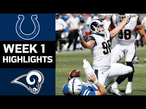 Colts vs. Rams | NFL Week 1 Game Highlights