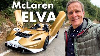 McLaren Elva   1.7 Mio € ohne Frontscheibe   mit 815PS durch Monaco   Matthias Malmedie