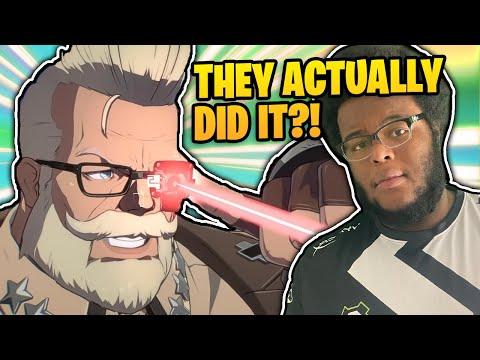 GOLDLEWIS IS THE COOLEST DUDE IN THIS GAME | Guilty Gear Strive DLC Reaction |