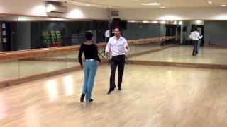 Cha-Cha Intermediate routine Inspiration 2 Dance London