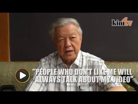 Chua Soi Lek: Those Who Condemn Me Are Either Cowards Of Hypocrites