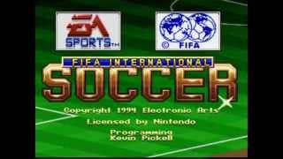 Super Nintendo - Fifa International Soccer (1994)
