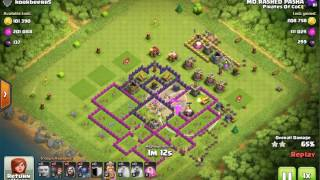Clash of Clans - How to Find The Right Base to Attack |TH9 base attacks|3 Star attacks.