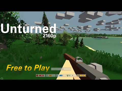 Unturned co-op with Val Krikri PC Gameplay 4K 2160p