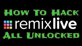 Cara hack Remixlive app android all unlocked / How to hack remixlive all unlocked screenshot 3