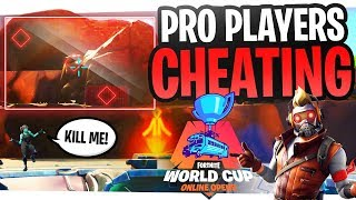 Fortnite Pro Players Caught Cheating in the World Cup