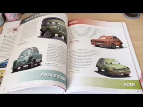 Disney cars meet the cars book