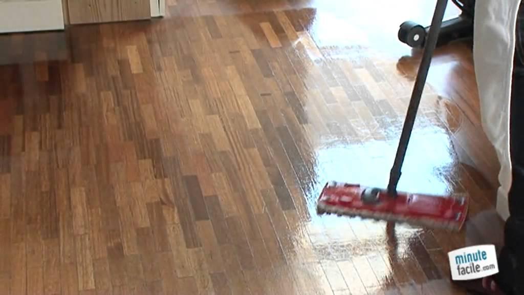 m6 la minute facile nettoyer un sol en parquet