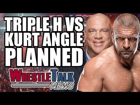 Paige WWE Return! Triple H Vs Kurt Angle Planned For WWE Raw!? | WrestleTalk News June 2017
