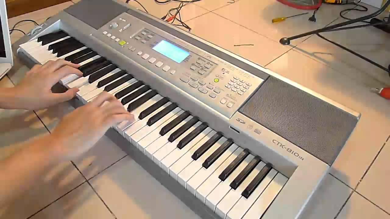 CASIO CTK 810IN MIDI DRIVER FREE