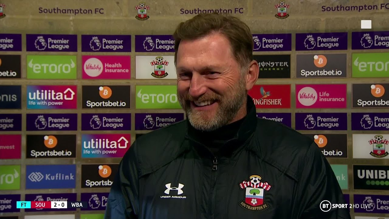Whoops Ralph Hasenhuttl Accidentally Announces New Southampton Signing In Post Match Interview Youtube