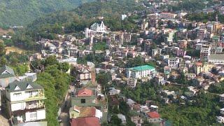 Aizawl landscape view - Mizoram /आइजोल