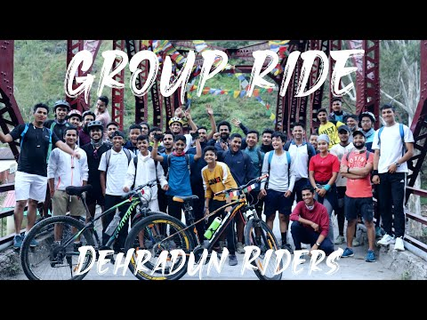First Group Ride with Dehradun Riders   Our new bicycle service centre in Dehradun thumbnail
