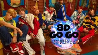 8D BTS (방탄소년단) | GO GO