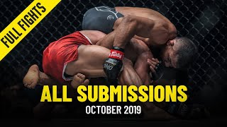 All Submissions In October 2019 | ONE Full Fights