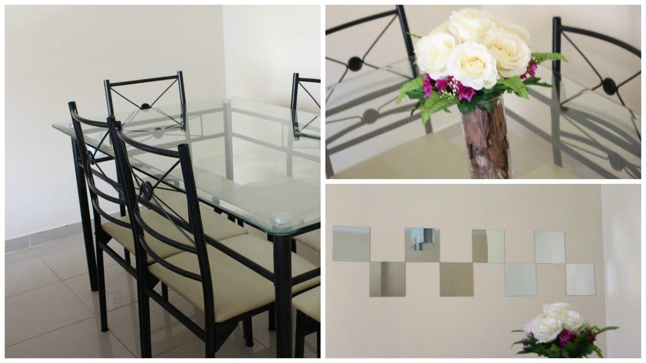 Decorao De Espelho Para Sala Fotos Espelho Decorativo Em Sala De  -> Adesivos Decorativos Para Sala De Jantar