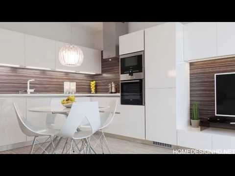 Impeccable and Neat Design Defining a Beautiful Modern Apartment in Bratislava [HD]