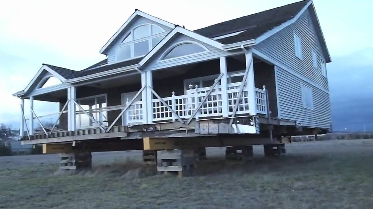 Moving a house by nickel bros youtube for How to move a building