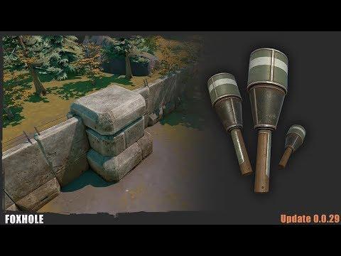 Bunkers & HE Grenades - Foxhole (Update 0.0.29)