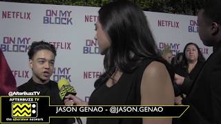 "Netflix's ""On My Block"" Interview with Jason Genao"