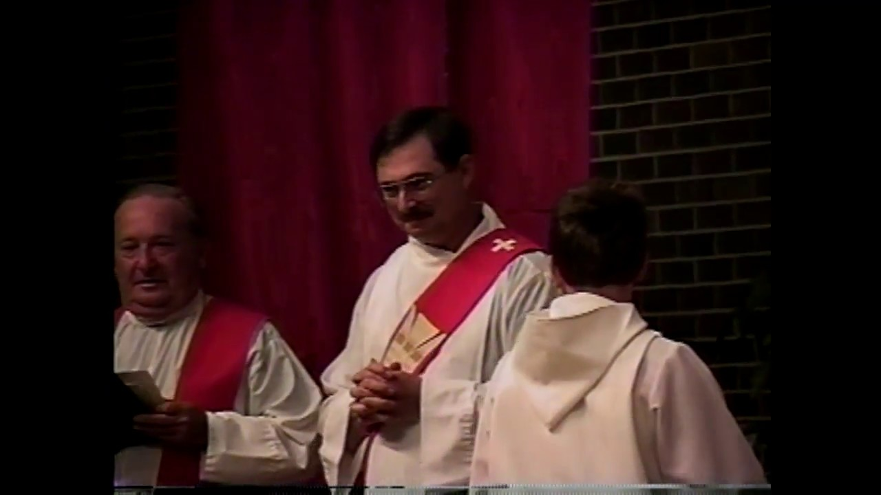 Fr. Timothy Soucy 25th Anniversary Mass  5-31-98