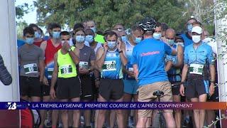 Yvelines | 7/8 Le Journal (extrait) – La Tremblaysienne, une course à pied après le confinement