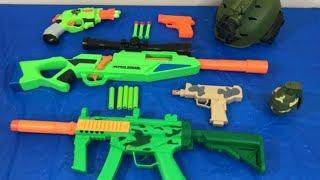 Box of Toys Toy Gun Nerf Gun Pistol Military Weapons