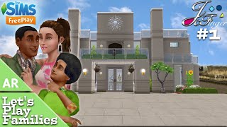 The Sims FreePlay 🚨🎬AR | LET'S PLAY FAMILIES | EP. 1 | MEET THE WILLIAMS.