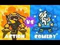 Splatoon 2! Action V Comedy! Final Hour! Go Team Comedy!