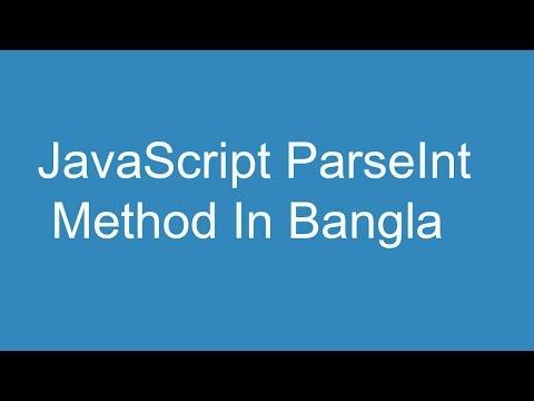 Javascript parseint method in Bangla thumbnail